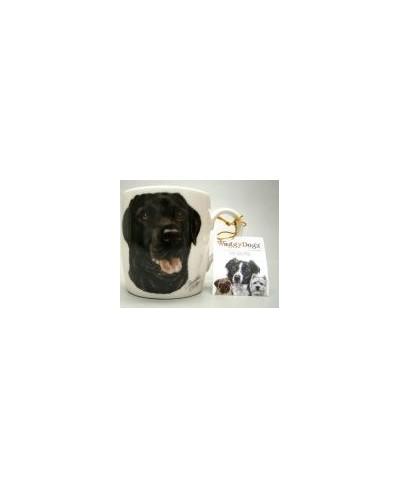 Mok hond Labrador zwart