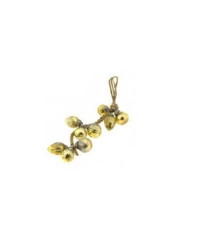 Kersthanger goudkleurig 30 cm