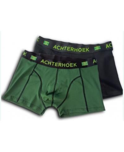 Achterhoekse boxershort zwart of groen